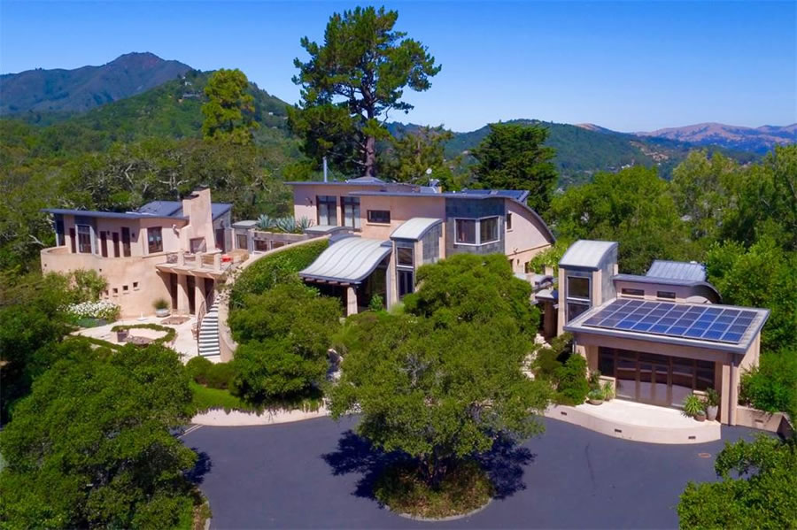 Eco-Luxe Guitar House Newly Listed for $25 Million in Marin