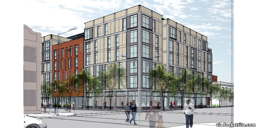 88 Broadway Rendering - Vallejo and Front