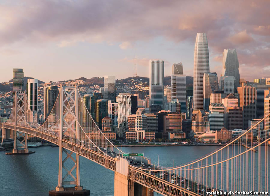 San Francisco's Future Skyline Newly Rendered and on the Way