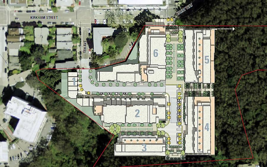 The Kirkham Project Site Plan