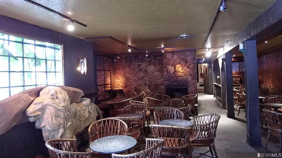 The Lion Pub Bar Interior
