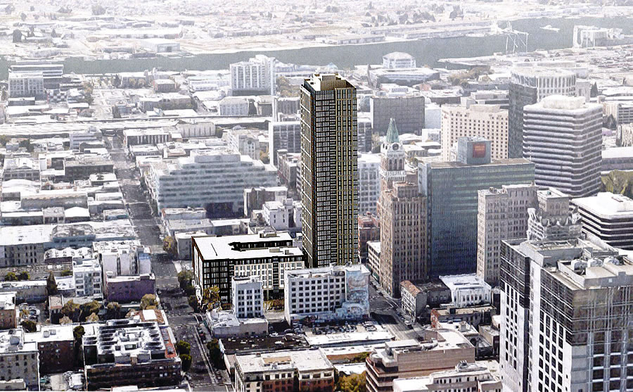 400-Foot-Tall Downtown Oakland Tower Closer to Reality