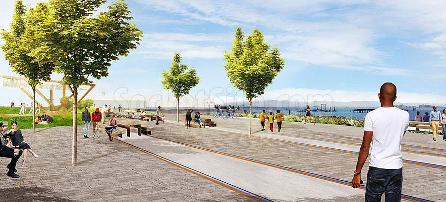Bayfront Park Rendering - 16th Street Plaza