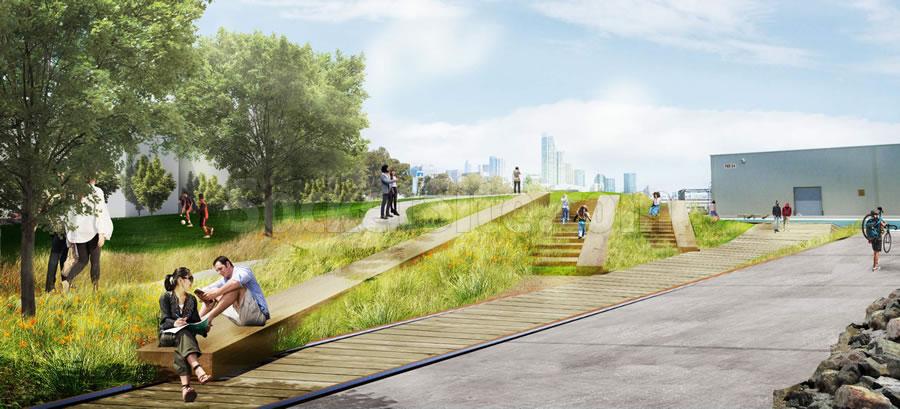 Bayfront Park Rendering - Sitting Area