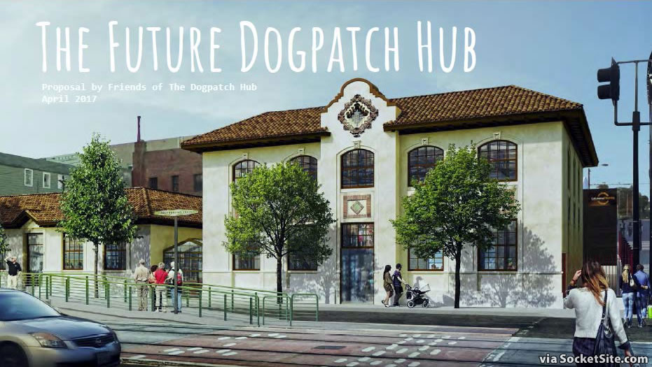 Dogpatch Hub Rendering