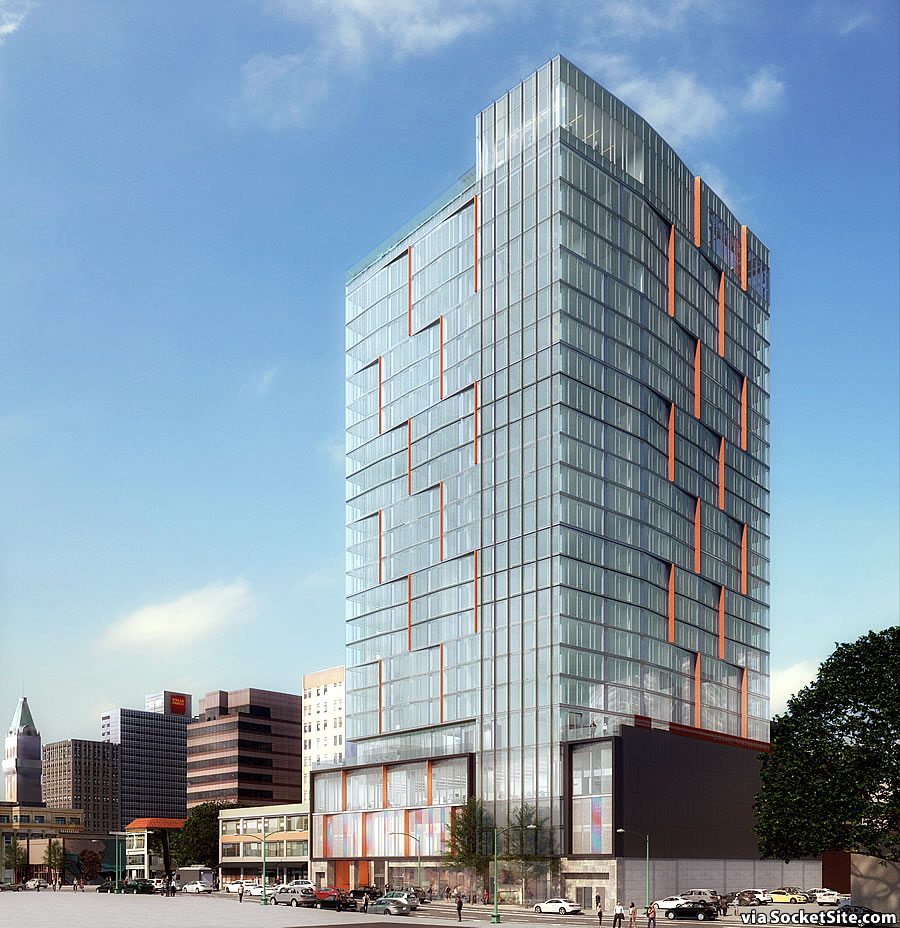 Proposed 25-Story Oakland Tower Closer to Reality