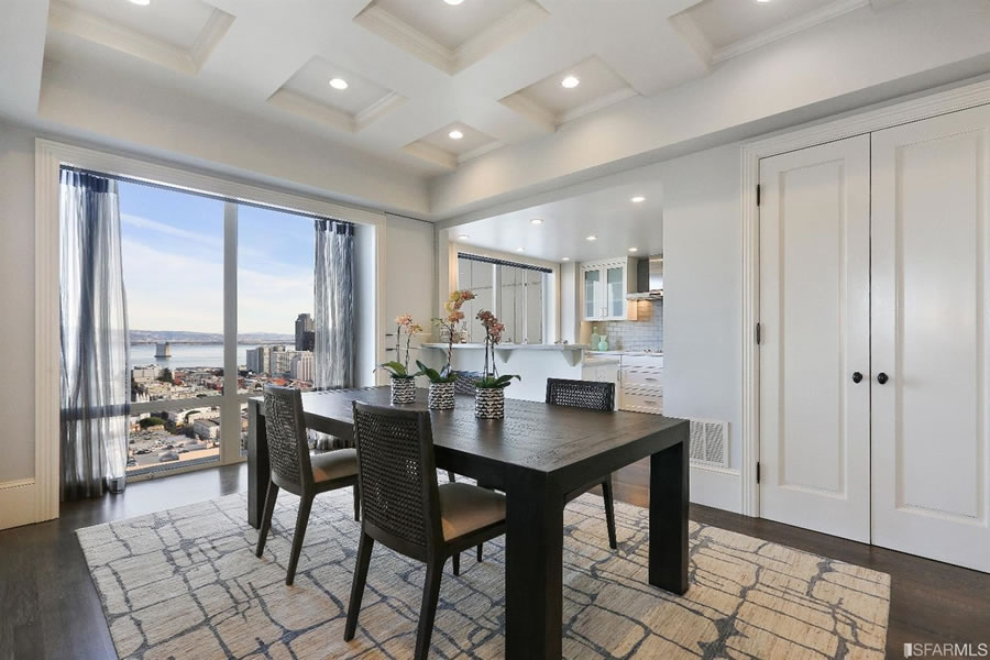 1750 Taylor #805 Dining View