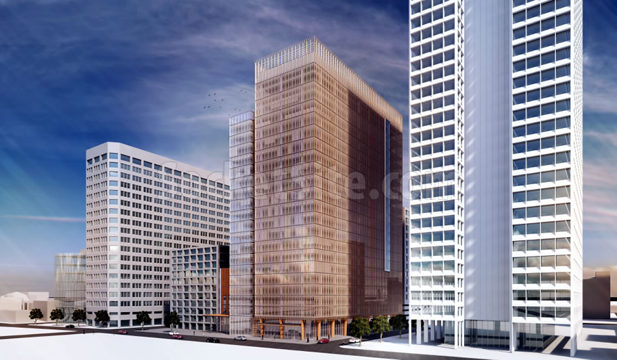 2 Kaiser Plaza Rendering Revised 250 SE