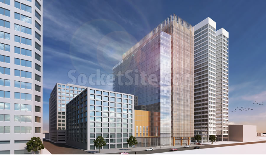 2 Kaiser Plaza Rendering Revised 250 SW