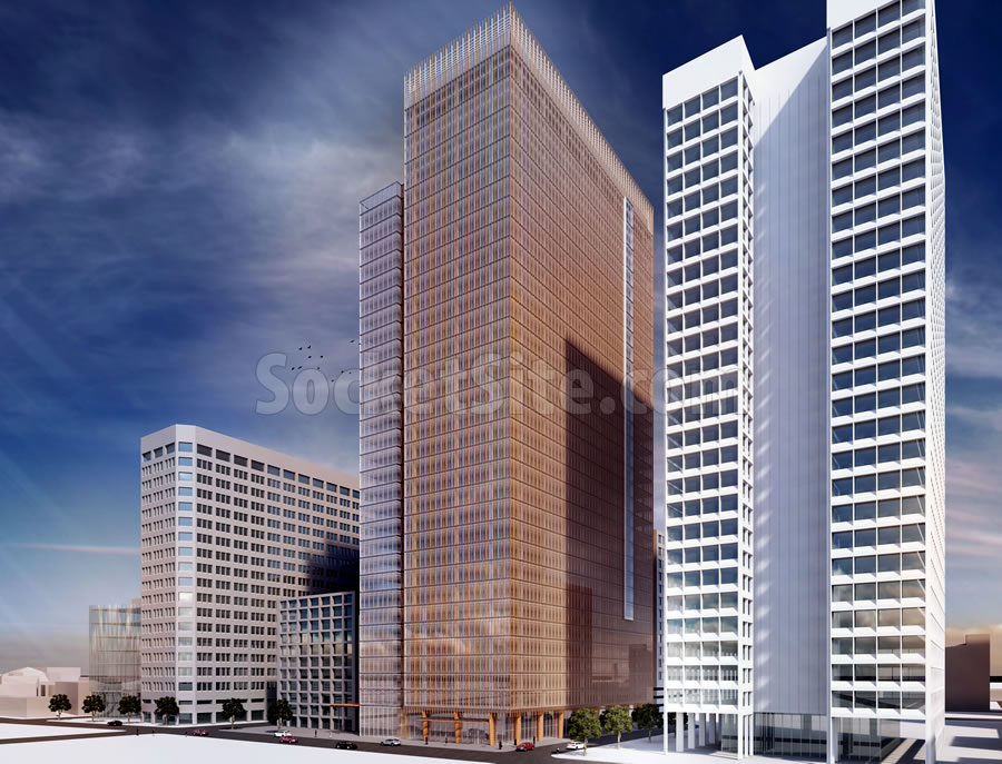 2 Kaiser Plaza Rendering Revised 450 SE