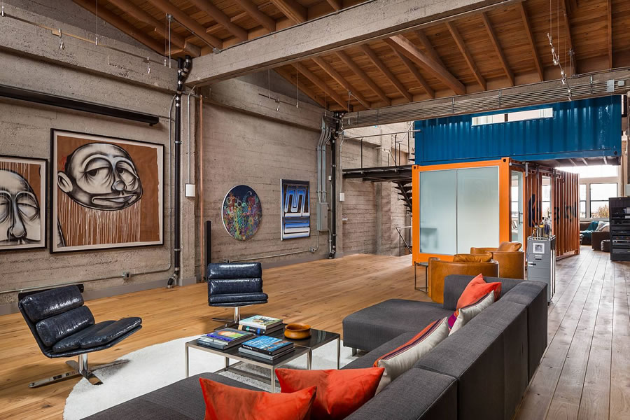 Modern Shipping Container Loft Trades for $300K More