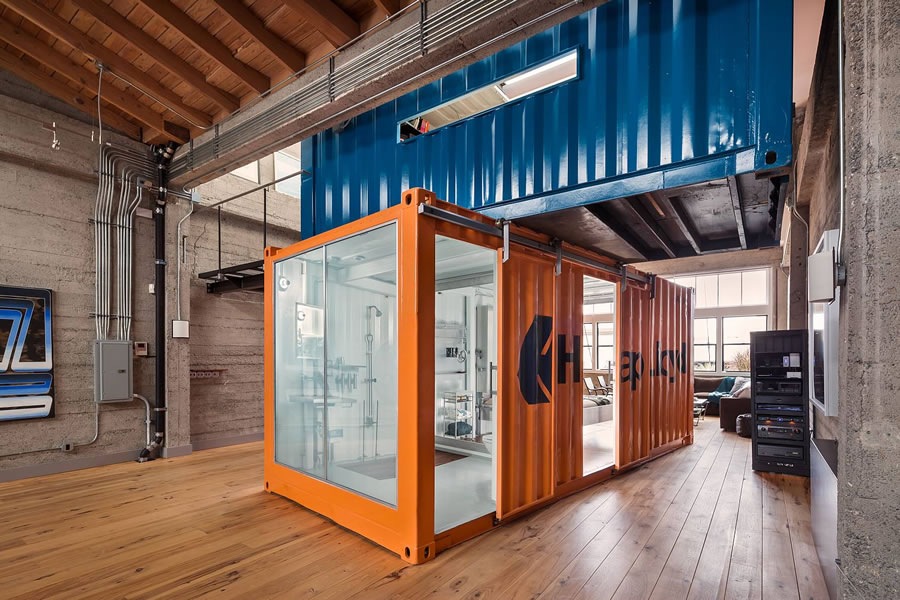 2230 Bush Street Shipping Containers Open