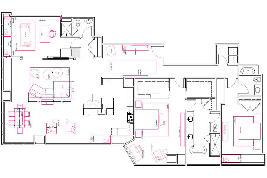 301 Mission PH1A Floor Plan 2017