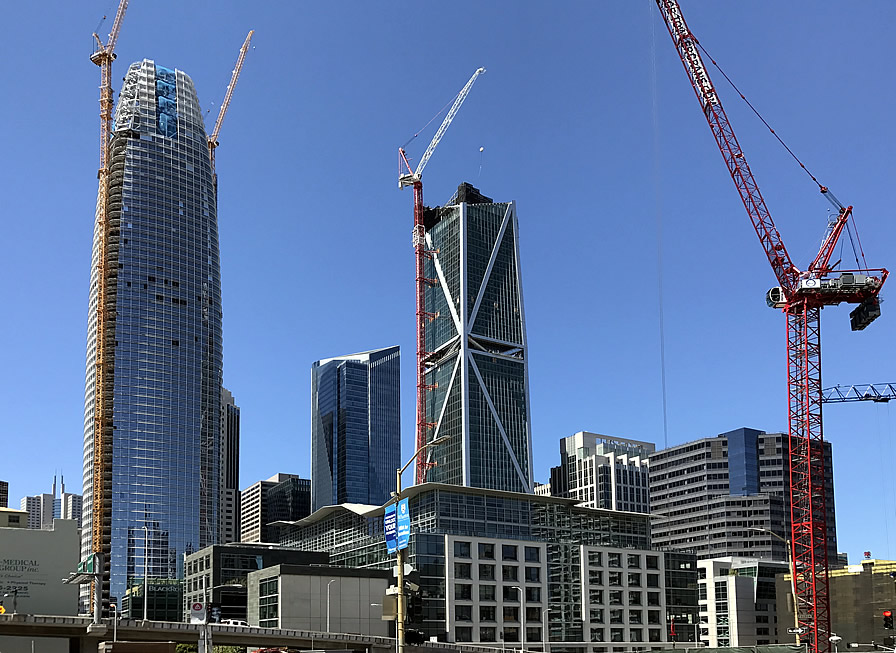 Pricing for New Condos in S.F. Slips along with Sales and Inventory