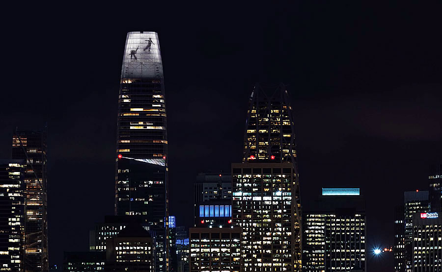 The Public Art to Illuminate Salesforce Tower