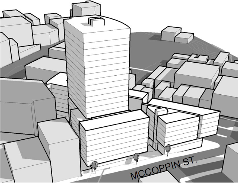 33 Gough Massing: McCoppin Street