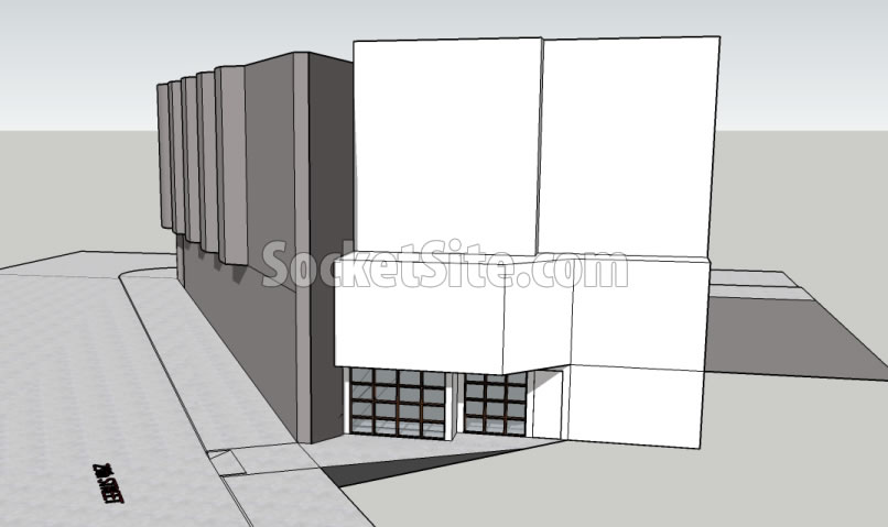 3310 Mission Street Rendering: Garage Entrance