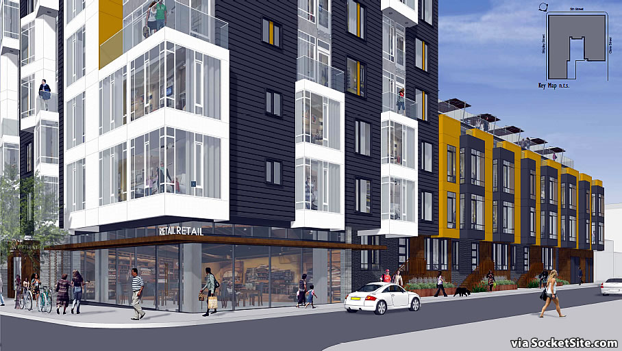 360 5th Street Rendering: 5th and Shipley