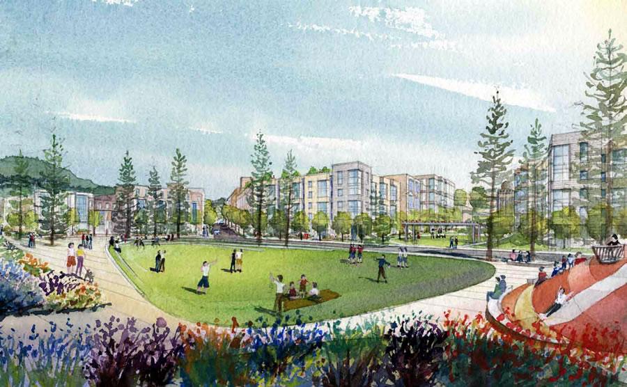 Balboa Park Reservoir Proposal - Emerald - Design