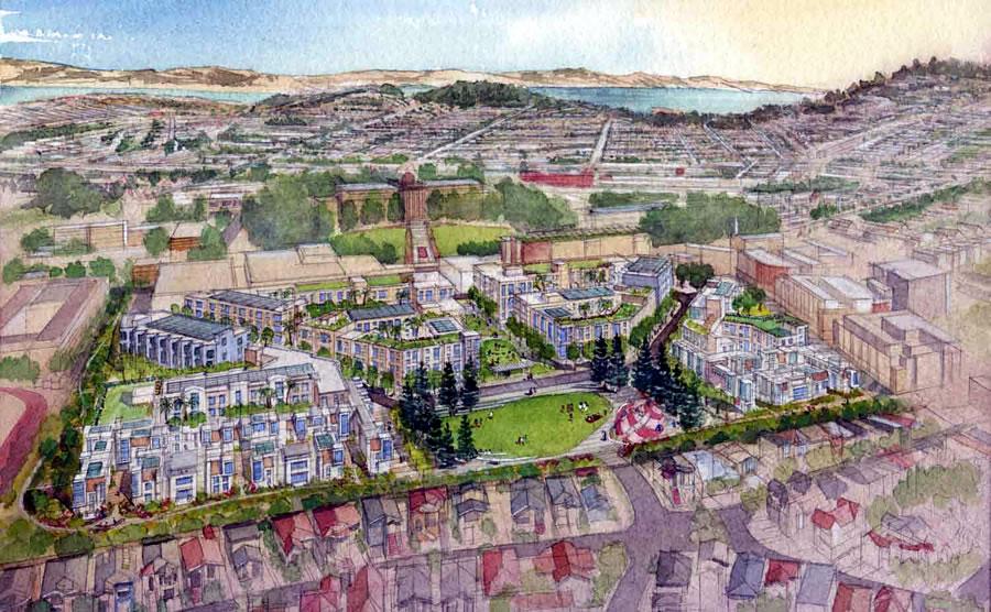 Balboa Park Reservoir Proposal - Emerald - Overview