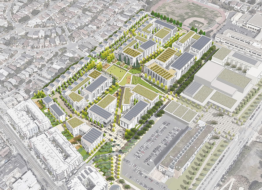 Plans for Redeveloping Balboa Reservoir Site Revealed