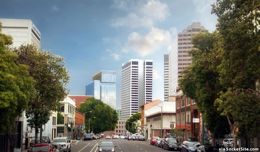 2 Kaiser Plaza Rendering Refined - Distance 250