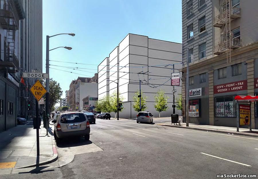 500 Turk Street Rendering - Proposed