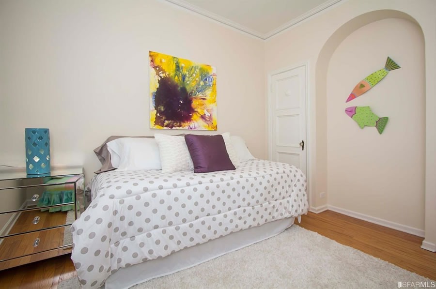 1101 Green Street #303 Bedroom Two 2