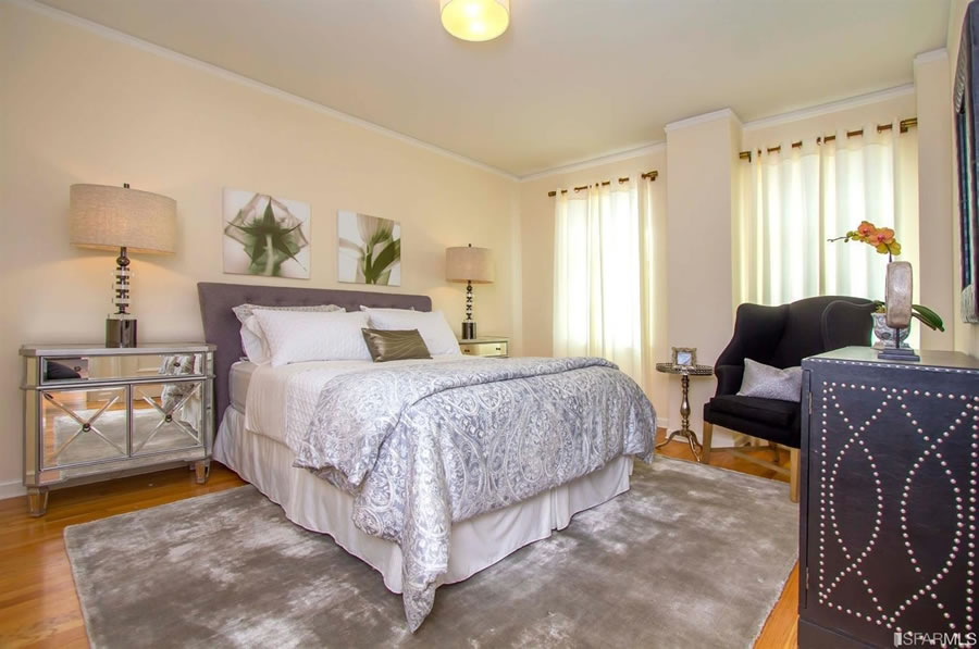 1101 Green Street #303 Bedroom