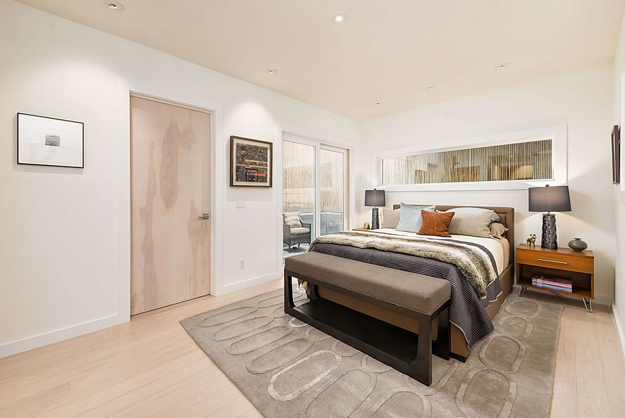 228 Day Street Master Bedroom