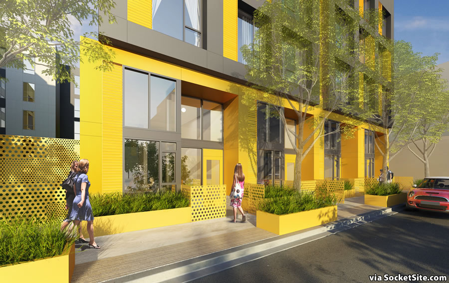 975 Bryant Rendering - Townhome