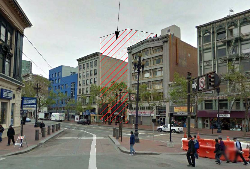 Clearing the Way for a 10-Story Hotel Right Here