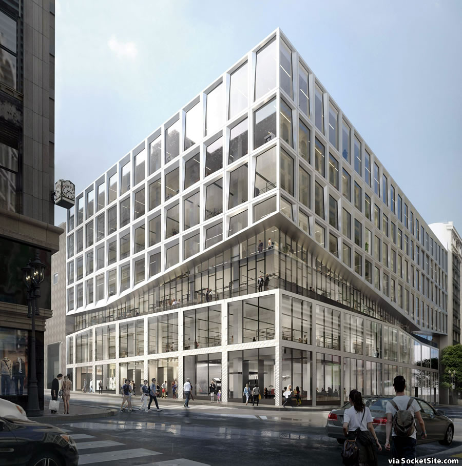 Proposed Makeover of the Macy's Men's Store Building Revealed