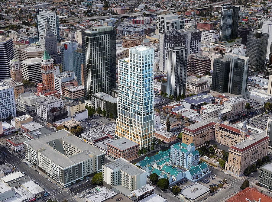 Historic Block Could Sink Plans for 460-Foot-Tall Oakland Tower