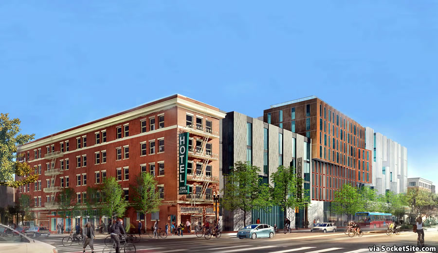 1629 Market Street Rendering 2017 - Market and 12th