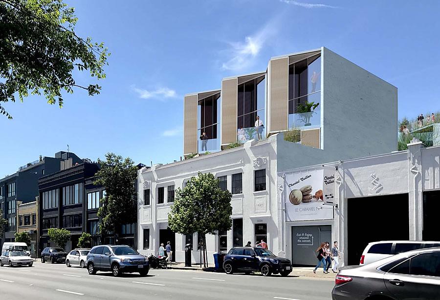 220 9th Street Rendering: Modern