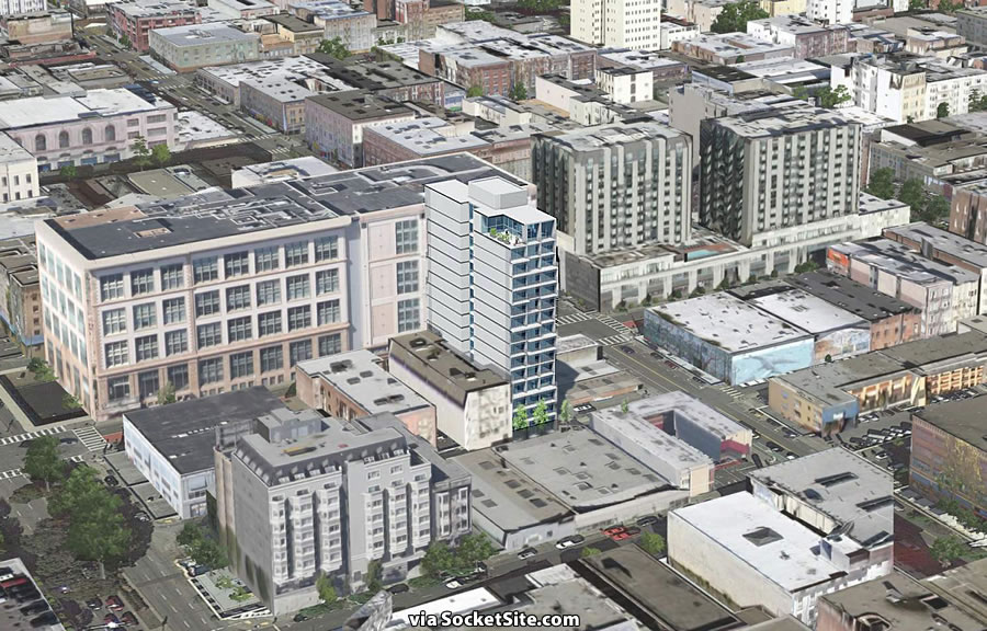 Plans for a 15-Story Polk Gulch Tower Revealed