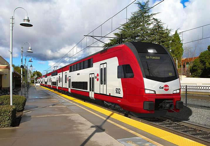 Projected Timing for Electrification of Caltrain Pushed Back to 2022