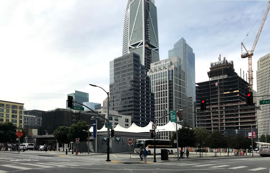 Temporary Transbay Terminal to Become a Condo Showroom
