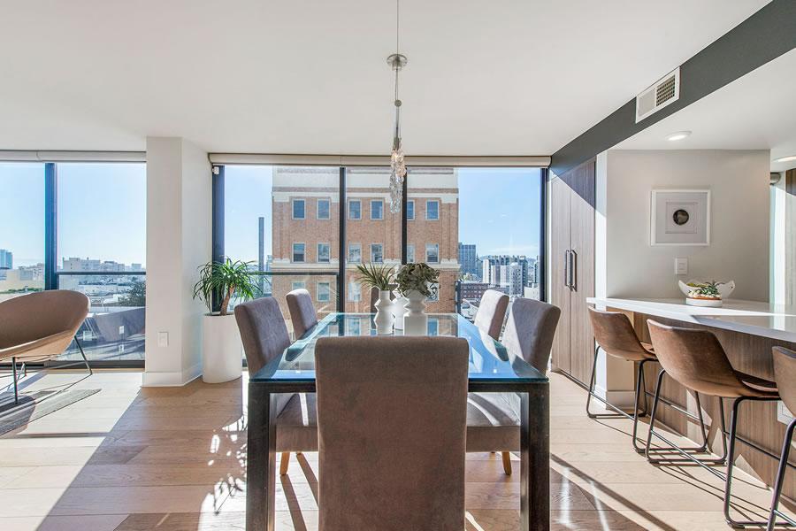 1080 Sutter Street #1001: Dining View