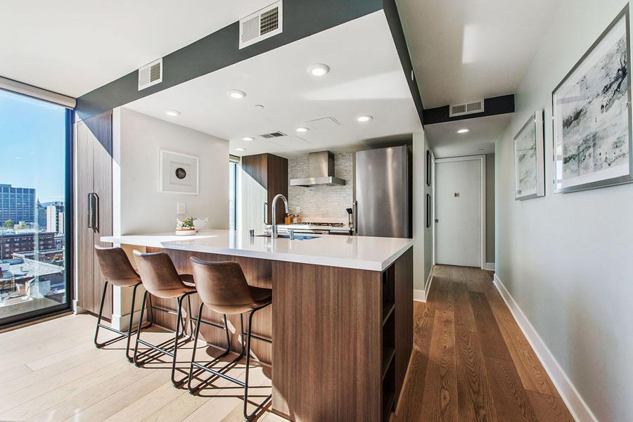 1080 Sutter Street #1001 - Kitchen
