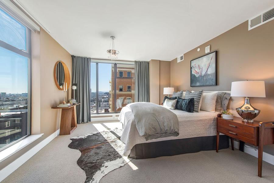 1080 Sutter Street #1001 - Master Bedroom
