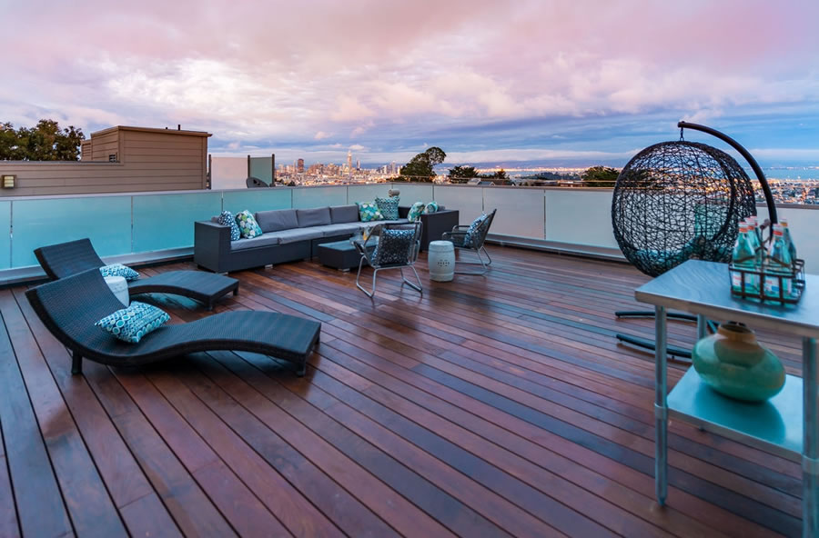 1644 Diamond Street - Roof Deck