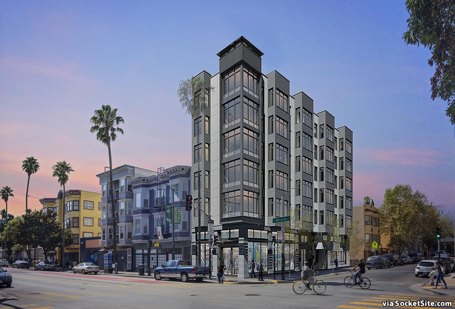 Contentious Development on the Market Touting Opposed Luxury