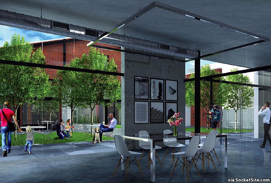 230 7th Street Rendering - Yard