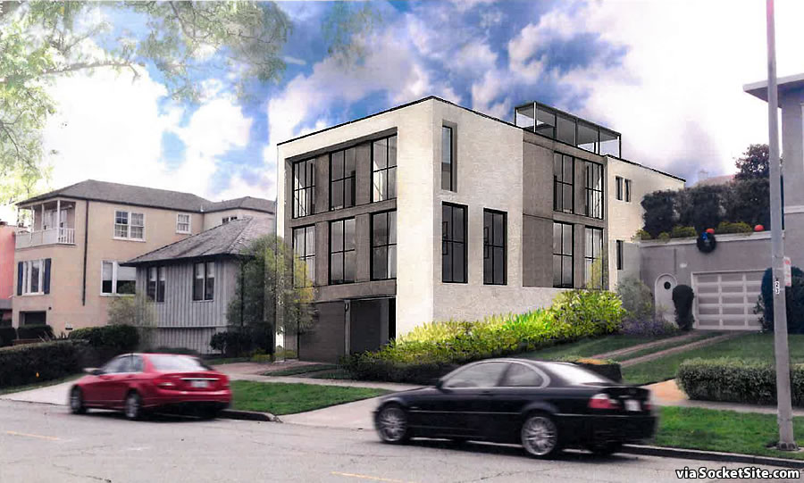 Approved Plans for Modern Mansion Rankles its Neighbors