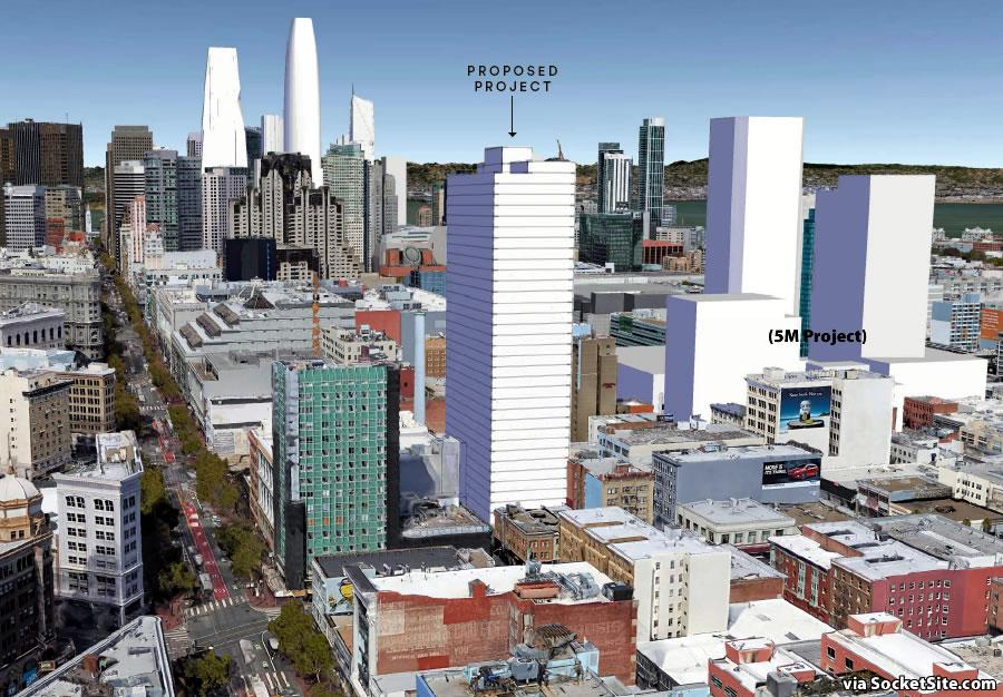 469 Stevenson Street Tower Massing