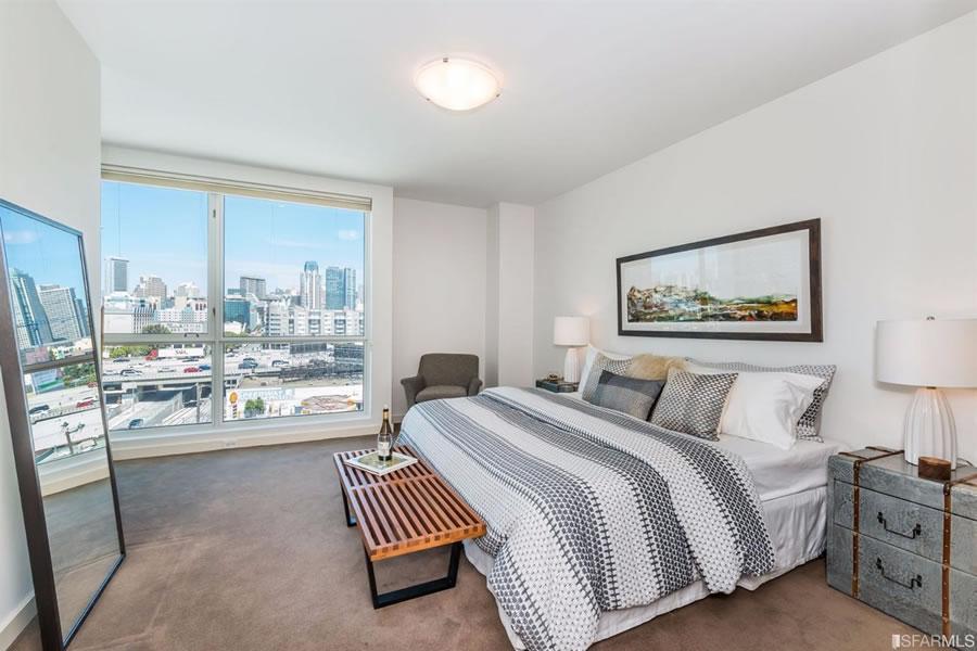 555 4th Street #827 Master Bedroom