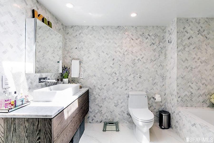 767 Bryant #403 Remodeled - Master Bath