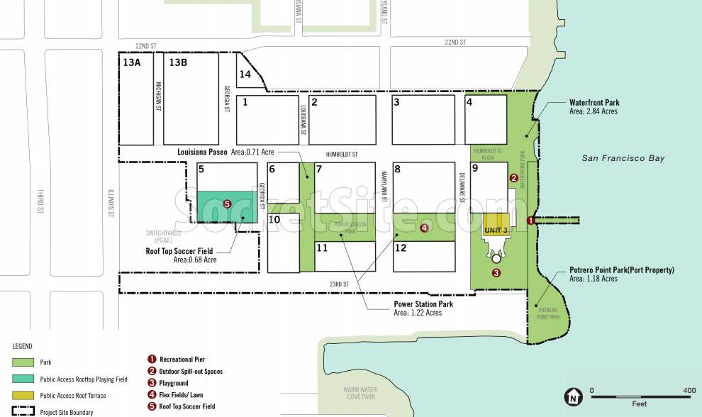 Potrero Power Plant Plans - Parks